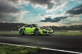 TechArt Unveils a Green Beast: The Porsche 911 Turbo GTstreet R