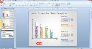 Free Powerpoint Chart Templates Free Hand Drawn Bar Chart Template For Powerpoint Free