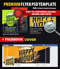 happy hour psd flyer template styleflyers happy hour psd flyer template