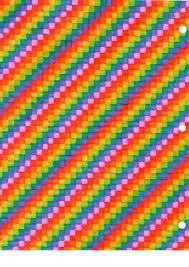 Rainbow Grid Paper Artist Ashley