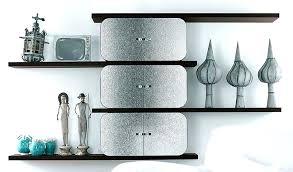 contemporary wall shelves design ideas mounted glass shelf modern shelving units for kitchen w