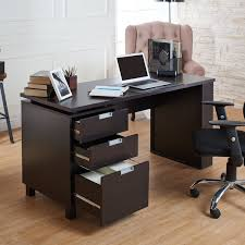 office desk cabinet. furniture of america tuston espresso office desk with builtin file cabinet free shipping today overstockcom 17563620 s