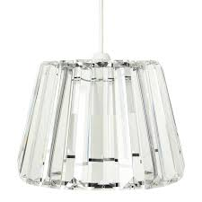 glass shades the most capri clear glas ceiling light big fans intended for 13