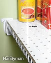 tip for pantry shelves