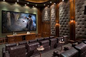 upholstered wall panels home theater
