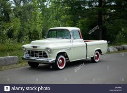 1955 Chevrolet Cameo Pickup Truck Stock Photo, Royalty Free Image ...
