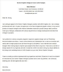 Graphic Design Cover Letter Samples