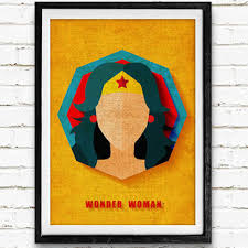 shop dc superhero art on wanelo