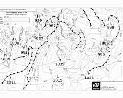 Surface Pressure Charts Nomad Sailing