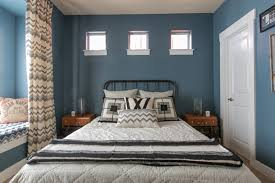 cozy blue black bedroom. color of the day philipsburg blue cozy black bedroom