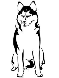 Ausmalbild Alaskan Husky Ausmalbilder Kostenlos Zum Ausdrucken