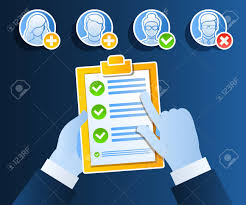 Job Qualification List Business Concept Of Hiring Of An Employee Candidate Qualification