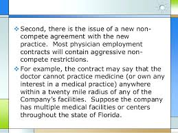 No Compete Clause Example Non Philippine Law Agreements Physician ...