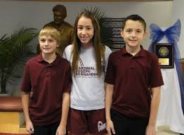cjb students selected winners of the patriotic pen essay contest  karl kosary isabella beradelli of orland park and alec jania orland park represented cjb in
