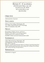 College Student Resume Examples Little Experience Gorgeous Resume Examples For College Students With Little Experience