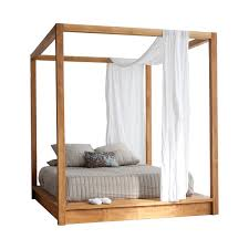 PCH Series Canopy Platform Bed