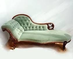 victorian chaise lounge. Victorian Chaise Lounge Aqua Antique Suites H