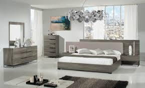 Modern Grey Bedroom Nova Domus Enzo Italian Modern Grey Walnut Fabric Bedroom Set