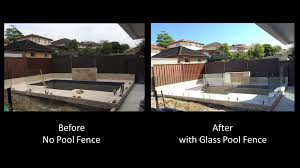 all photos are genuine pool fencing projects installed by southern cross frameless