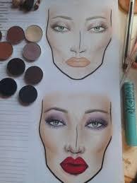 Melanie Make Up How To Do A M A C Face Chart Mac Face