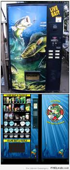 Live Bait Vending Machine Price Awesome Weird Vending Machines You May Not Suspect Exist PMSLweb