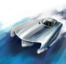 <b>Mercedes</b>-<b>Benz SLS AMG</b> boat for Top Gear | Ippiart Studio