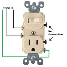 wiring for a switch socket combo doityourself com community forums light switch outlet combo at Switch Receptacle Combo Wiring Diagram