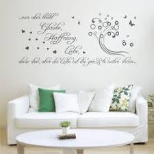 Nun Aber Bleibt Glaube Hoffnung Liebe Wandtattoo Kinderzimmer