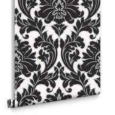 Majestic Black and White Wallpaper, ...