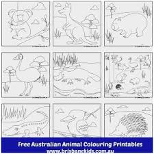 Australian Coloring Pages Unique Australian Animals Colouring Pages