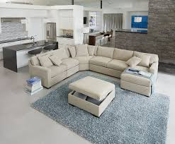 beautifully crafted of ethan allen sectional sofas ethan allen sectional sofas in beige with ottoman