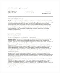 Store Manager Resume Unique Store Manager Resume 28 Free PDF Word Documents Download Free