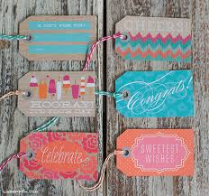 Summer Gift Tags Sweet Summertime Printable Gift Wrap And Gift Tags Lia