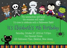 Halloween Invitation Template Halloween Birthday Invitations Templates Free All Invitations Ideas 9