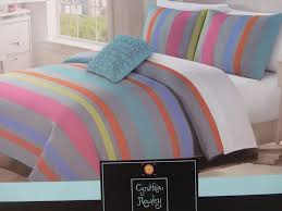 details about 3 pc cynthia rowley full queen microfiber duvet cover shams set nip
