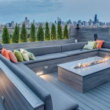 rooftop furniture. Contemporary Deck By PITCH Concepts Rooftop Furniture F