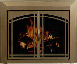 How To Paint Brass Fireplace Doors Brick Anew