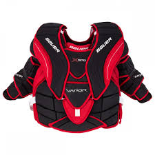 Bauer Goalie Chest Protector Size Chart Bauer Vapor X900 Intermediate Goalie Chest Arm Protector 17 Model