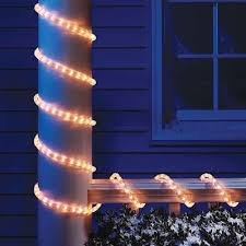 Holiday Time 18 Ft Crystallized Rope Light Blue Holiday Time Christmas Lights 18 Crystalized Rope Light Clear