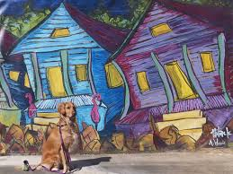 park 1 thek9harperlee the mural was painted by artists
