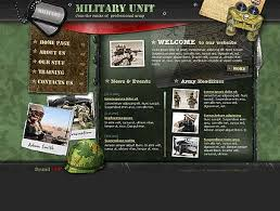 Flash Website Templates Extraordinary Military Unit Flash Template Best Website Templates