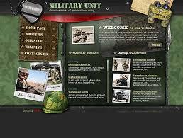 Flash Website Templates Extraordinary Military Unit Flash Template Best Website Templates