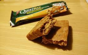 inside of peanut er quest bar