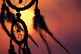 Dream Catcher Definition dreamcatchers silhouette symbols feathers sunset 99