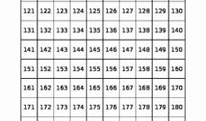 Hundreds Chart Printable For Hundreds Chart Freebie 1 100