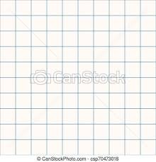 Graph Papper Millimeter Grid Square Graph Paper Background Seamless Pattern Vector Illustration