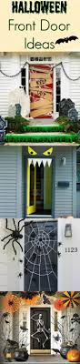 Halloween Door Decorating Ideas are a great way to add some magic to your  house. Easy Halloween front door ideas for the best looking porch on the  block!