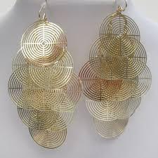 rose pearl chandelier earrings4 jpg gold circular earrings2 jpg