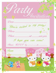 images about hello kitty birthday party 1000 images about hello kitty birthday party invitations tiny prints and party ideas