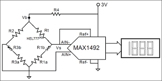 design considerations for a low cost sensor and a d interface Rtd Probe Wiring Diagram in this simple temperature sensor with a digital display, the bridge circuit 4 Wire RTD Connections Diagrams